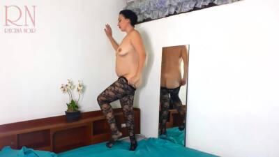 Black Body Stockings. Two Teen Girls Posing In Black Mesh Body Lingerie Sexy Lingerie. Cam 1