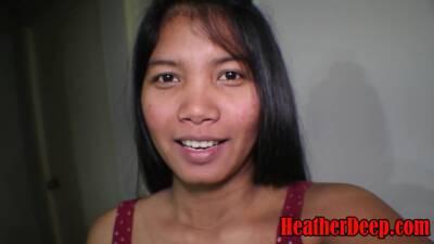 Heather Deep In 20 Week Pregnant Thai Teen Deepthroats Whip Cream Cock And Gets A Good Creamthroat