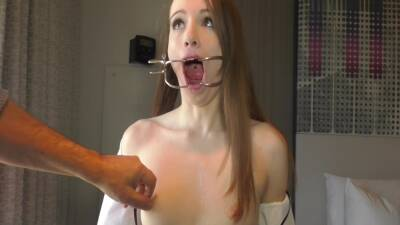 Master Hand Stripped Bondage Pain With Brooke Johnson